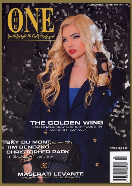 Media: THE ONE, Finelifestyle & Golf Magazine – Winter Edition 2016